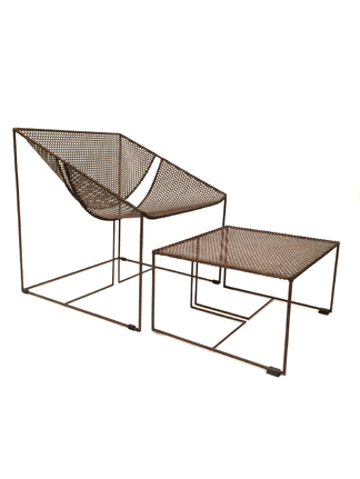 Athos Lounge Chair  & Ottoman