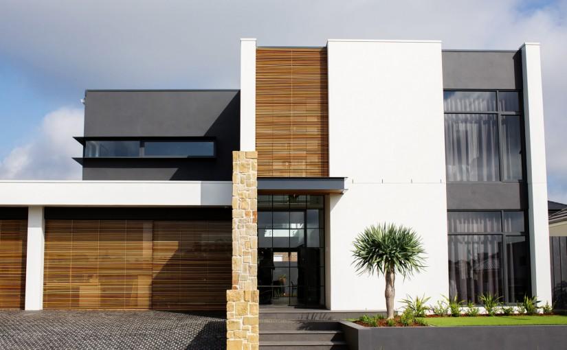 Flexible nature: knock-down rebuild home project