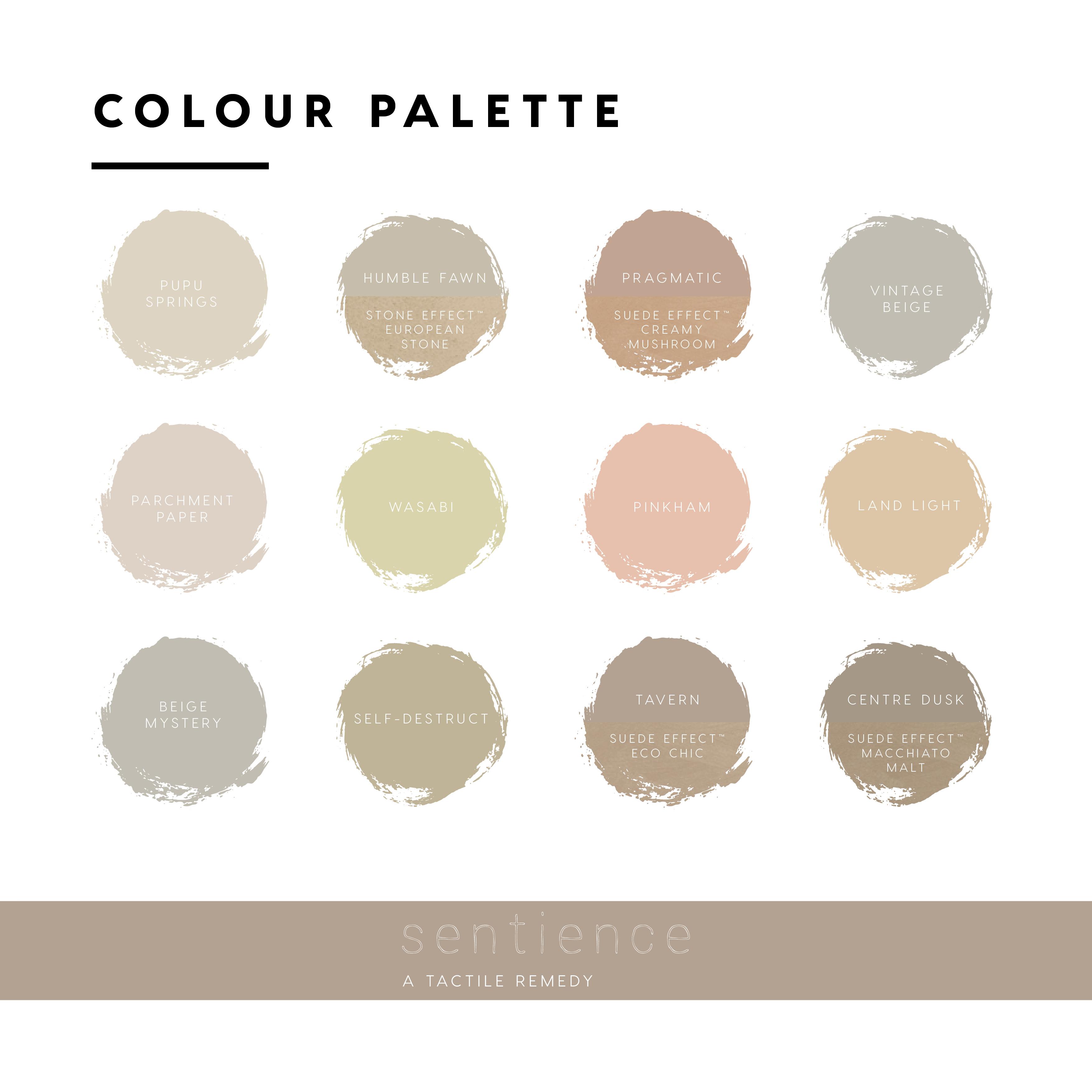 Dulux Construct Colour Palette