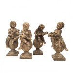 Outdoor decor: statues range