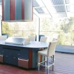 Modern classic: 19th century villa kitchen