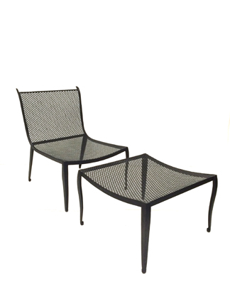 Kiel Occasional Chair with Ottoman