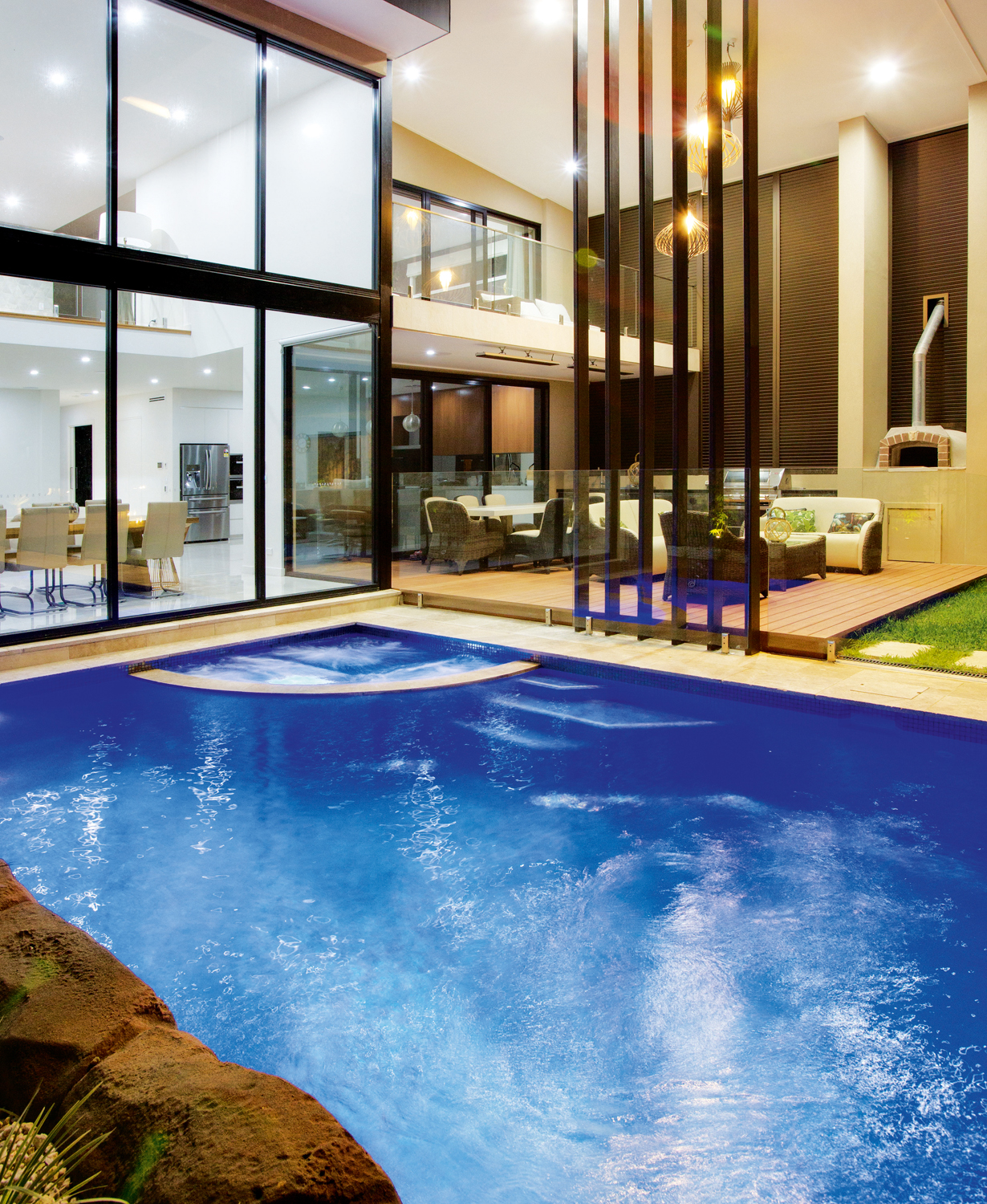 The fun factor pool and spa project completehome for Pool and spa show usa