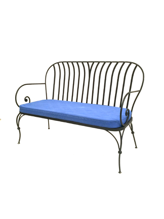 Paris Two Seater with Cushion -Side