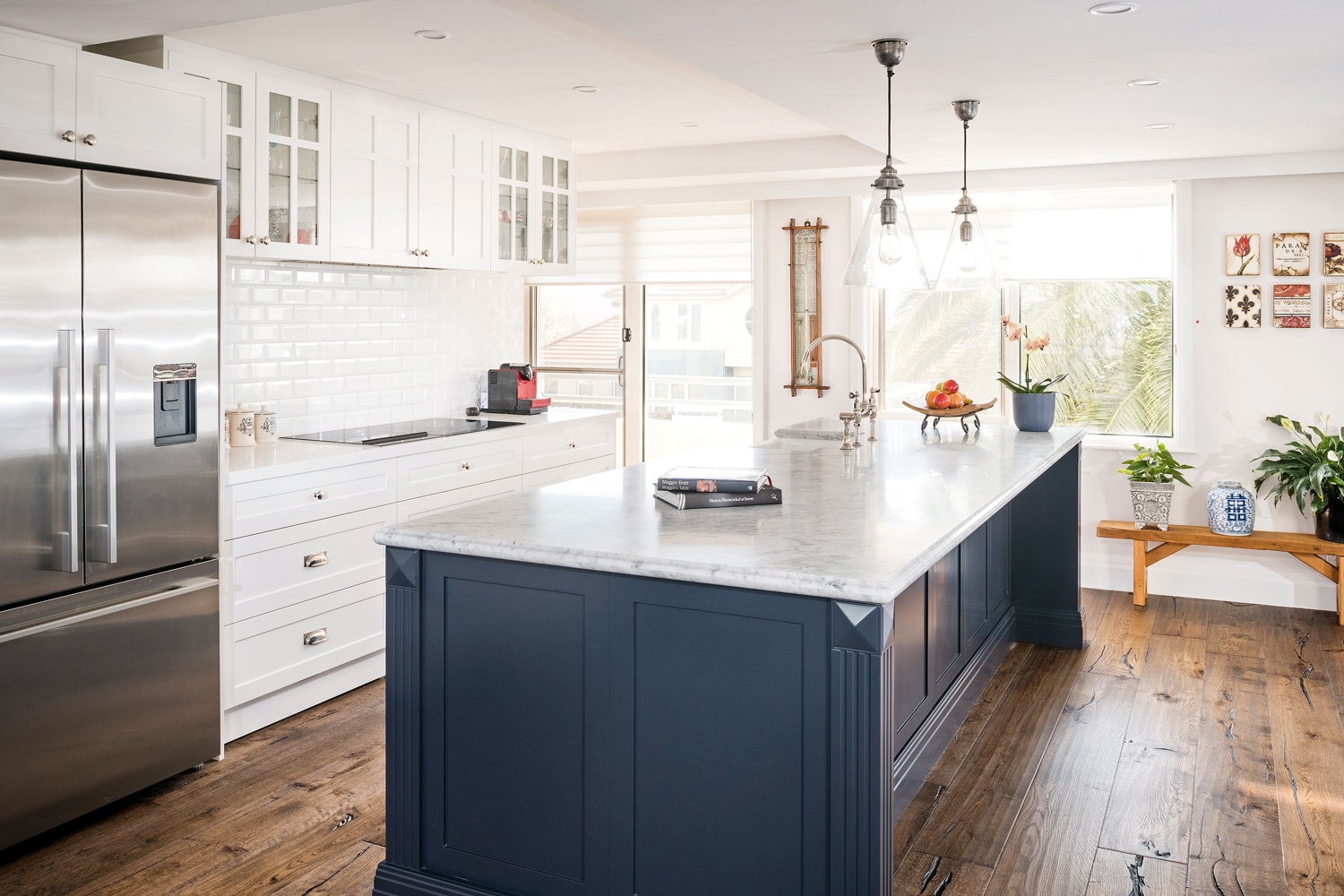 Coastal Calm Hamptons Kitchen Completehome