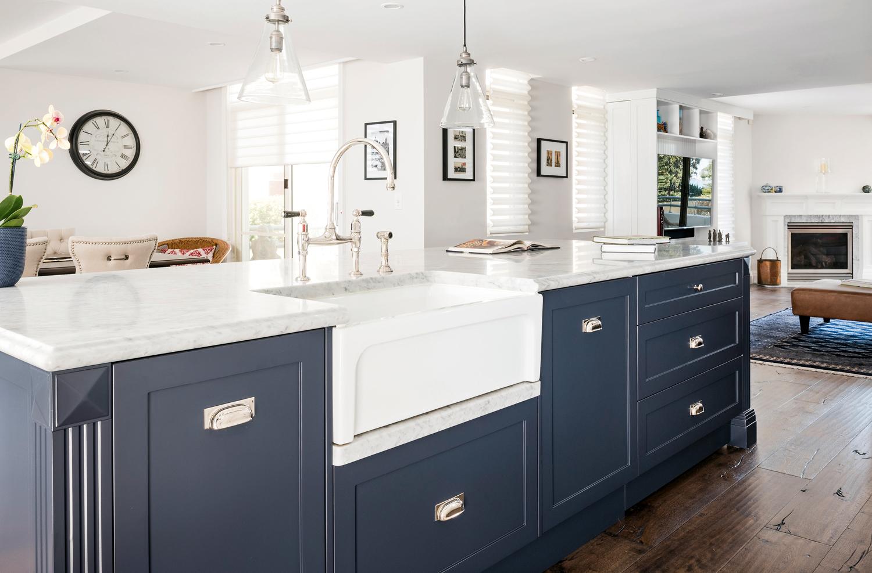 Coastal Calm Hamptons Kitchen Completehome