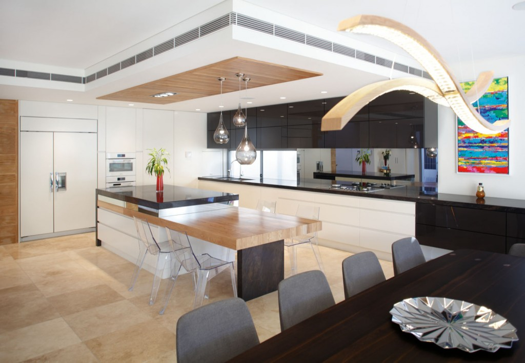 Slice of beauty: kitchen design