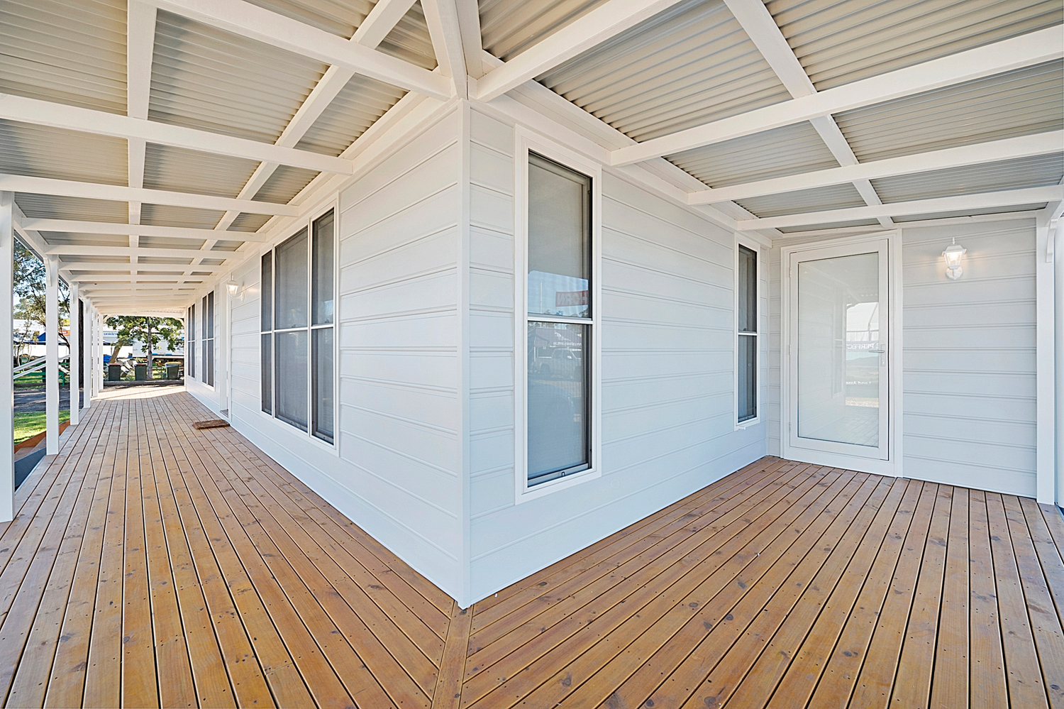 Manor Homes - Mitchell 3 Country Design - Modular - Verandah