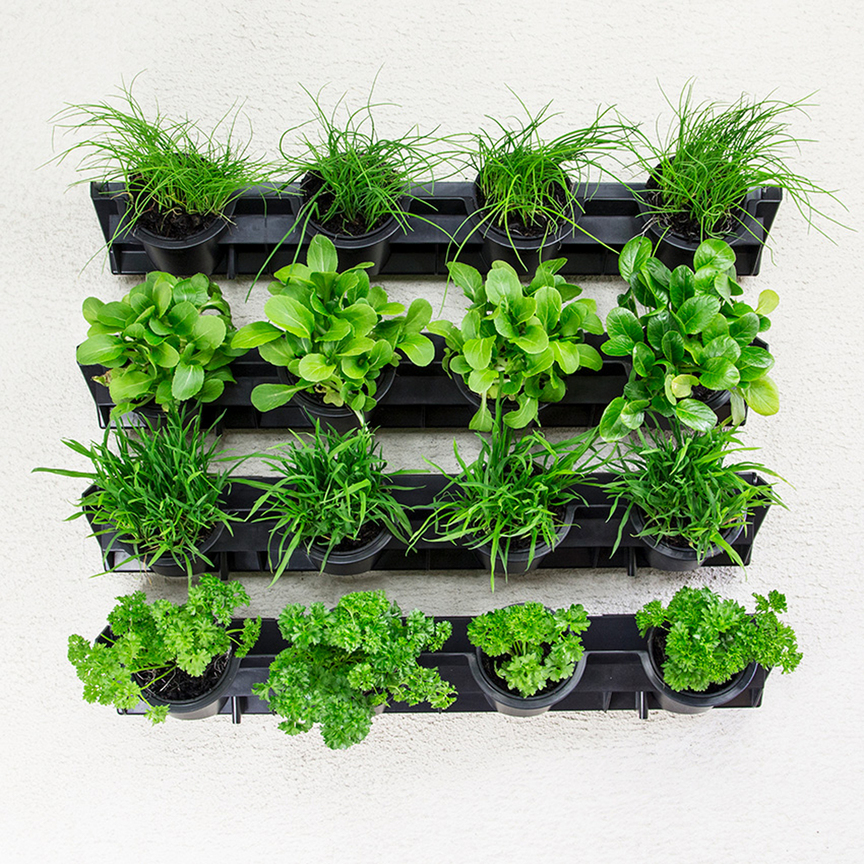 green wall pixel pot