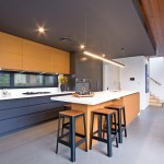 Old and new: a modern kitchen
