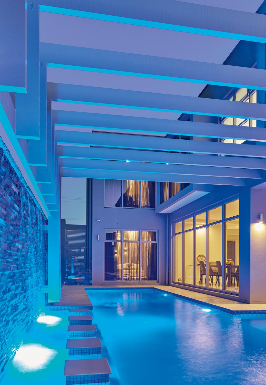 pool inside home