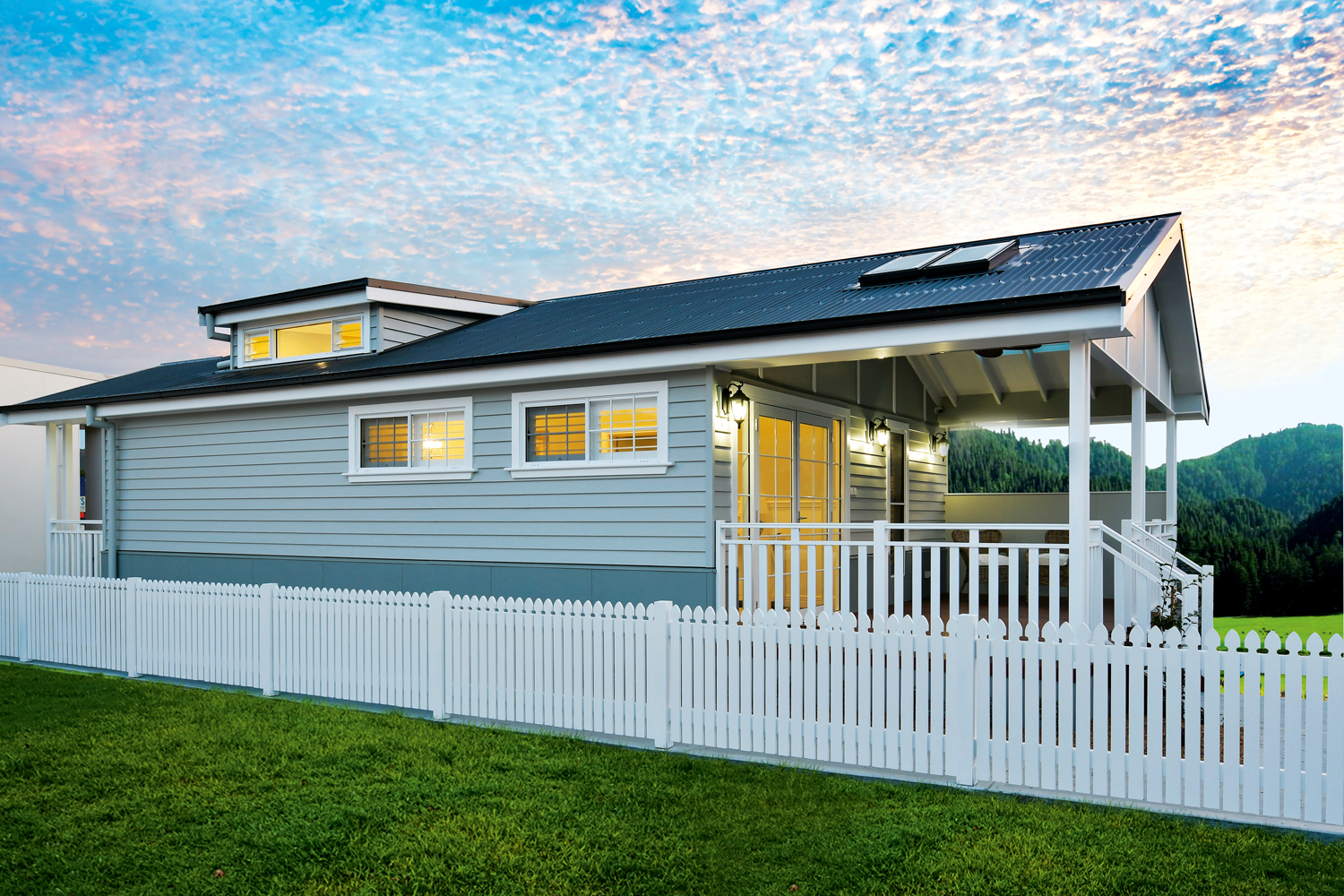 This modular home embodies Hamptons for an easy yet classic build
