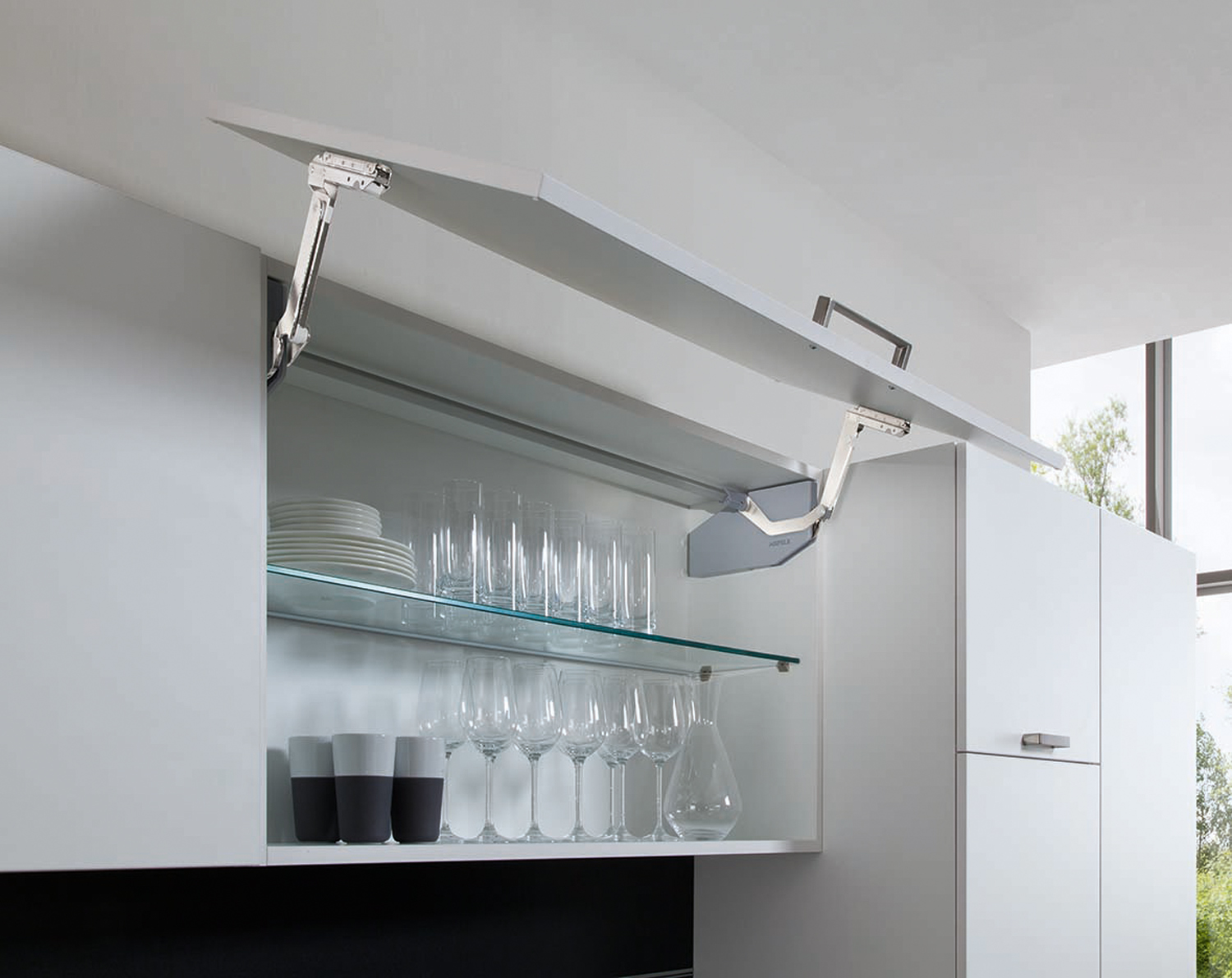 Free Fittings for a modern touch to your cabinets
